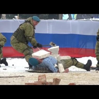 Embedded thumbnail for 9 февраля Праздник ВДВ в Михайловке. В Честь 100 - летия РВВДКУ